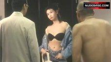 Chingmy Yau in Strapless Bra – Street Angels