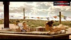 2. Kelli Garner Bikini Scene – Dreamland