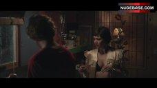 Maggie Gyllenhaal Flashes Lingerie – Frank