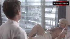 Britt Ekland Lying Topless – Scandal