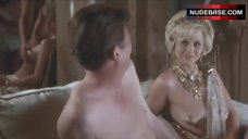 Britt Ekland Shows Tits – Scandal