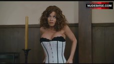 Carmen Electra in Corset and Stockings – Scary Movie 4
