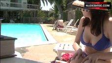 Wendel Meldrum Cleavage in Bikini – Cruel But Necessary