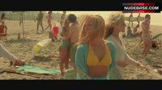 Monet Mazur in Yellow Bikini – Blow