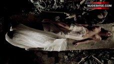 Anna Falchi Topless Scene – Cemetery Man