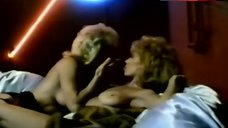 Topless Angel Tompkins in Lesbian Scene – The Naked Cage