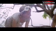 3. Mia Farrow Nip Slip – Hurricane