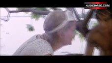 5. Mia Farrow Nip Slip – Hurricane