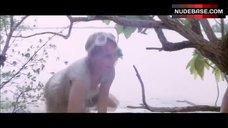 9. Mia Farrow Nip Slip – Hurricane