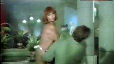 10. Sonia Infante Shows Tits during Striptease – La Casa Que Arde De Noche