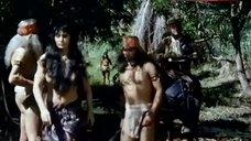 10. Sonia Infante Shows Breasts in Jungle – The Treasure Of The Amazon