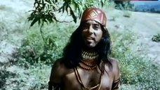 4. Sonia Infante Shows Breasts in Jungle – The Treasure Of The Amazon