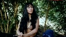 Sonia Infante Shows Breasts in Jungle – The Treasure Of The Amazon