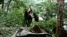 2. Sonia Infante Topless Riding Horse – The Treasure Of The Amazon