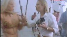 1. Karen Cliche Bikini Scene – Pact With The Devil