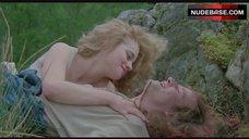 1. Beatie Edney Boobs Scene – Highlander