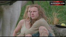 5. Beatie Edney Boobs Scene – Highlander