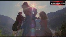 6. Beatie Edney Boobs Scene – Highlander