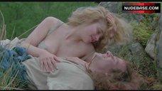9. Beatie Edney Boobs Scene – Highlander