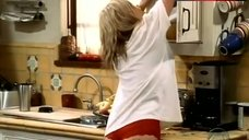 Kristin Dattilo Butt in Red Panties – Two And A Half Men