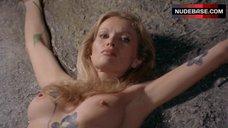 Alexandra Delli Colli Naked on Altar Stone – Zombie Holocaust