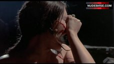 5. Candace Glendenning Topless Scene – Tower Of Evil