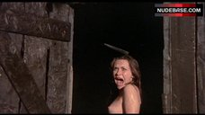 9. Candace Glendenning Topless Scene – Tower Of Evil