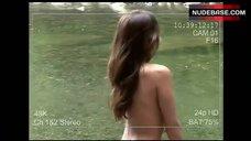 3. Crystal Lowe Breasts Scene – Wrong Turn 2: Dead End