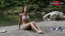3. Crystal Lowe in Lingerie on Beach – Wrong Turn 2: Dead End