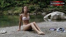 4. Crystal Lowe in Lingerie on Beach – Wrong Turn 2: Dead End