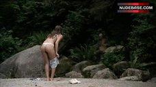 7. Crystal Lowe in Lingerie on Beach – Wrong Turn 2: Dead End