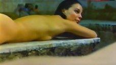 Yona Elian Nude in Sauna – The Last Winter