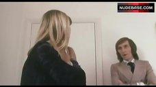 1. Susan George in White Lingerie – Die Screaming Marianne