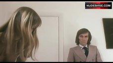 4. Susan George in White Lingerie – Die Screaming Marianne