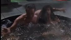 10. Dani Minnick Naked in Hot Tub – Tales From The Crypt
