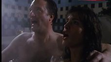 9. Dani Minnick Naked in Hot Tub – Tales From The Crypt
