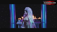 Gina Gershon Shows Tits on Stage – Showgirls