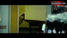 Gina Gershon Shows Legs – Mall