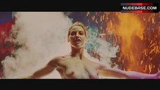 Gina Gershon Exposed Breasts – Showgirls
