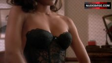 Robin Givens Hot in Lingerie Scene – A Rage In Harlem