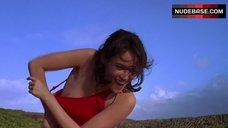 Joanna Going Flashes Nipple – Commandments