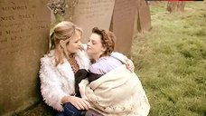 1. Julie Cox Lesbian Kissing on Cemetery – Brand New World