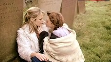 2. Julie Cox Lesbian Kissing on Cemetery – Brand New World