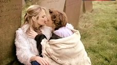 3. Julie Cox Lesbian Kissing on Cemetery – Brand New World