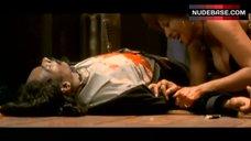 Pam Grier Decollete – Bones