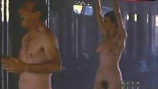 Rachel Griffiths Naked under Rain – Among Giants