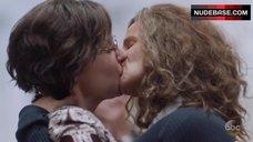 Rachel Griffiths Lesbian Kiss – When We Rise