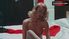 Simone Griffeth Nude on Bed – Death Race 2000