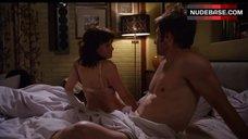 Carla Gugino in Bra and Panties – Californication