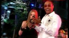 5. Avril Lavigne Ass Crack – Much Music Video Awards